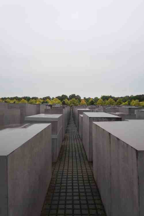 first time in Berlin, berlin memorial of the murdered jews of europe
