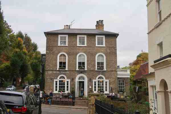 hampstead walking guide the wells tavern pub