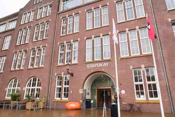 stayokay amsterdam zeeburg hostel outside