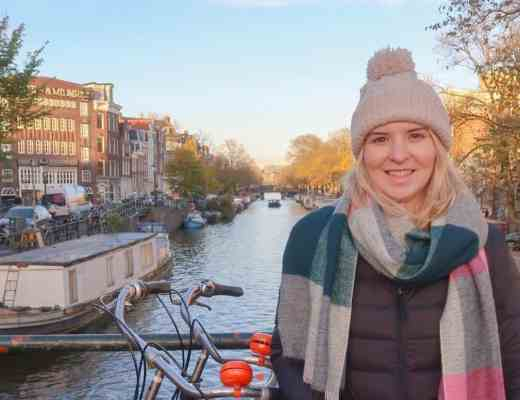 Amsterdam one day solo guide girl