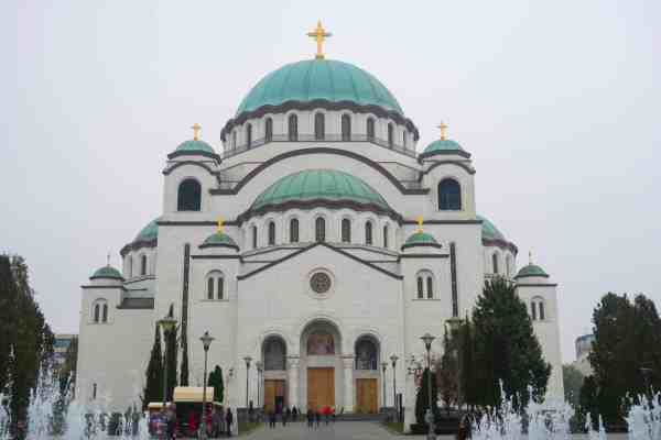 things to do in Belgrade, belgrade church of saint sava