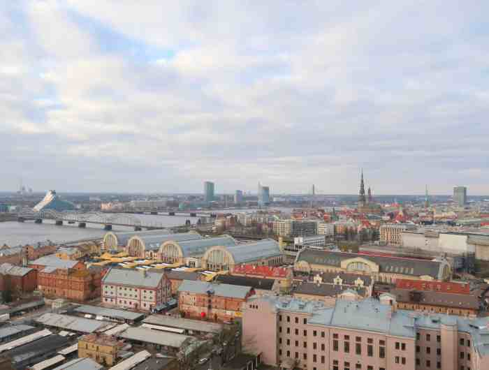 Viewpoints in Riga, academy of sciences