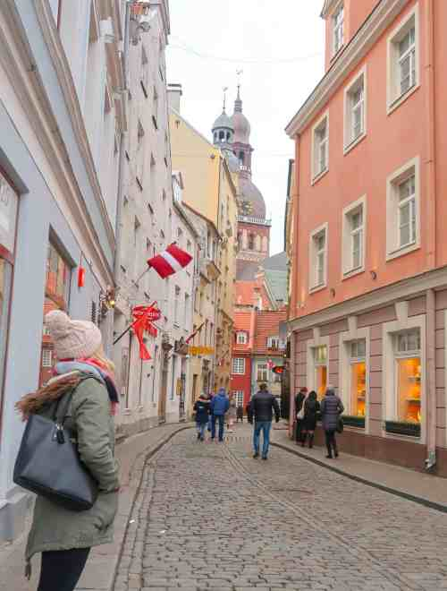 riga things to do old town