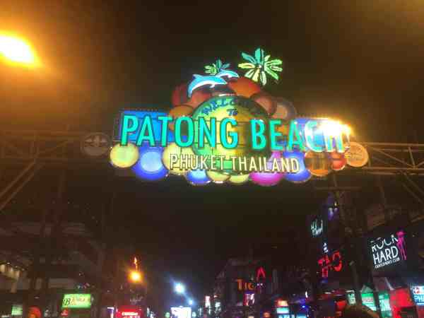 thailand party itinerary bangla road