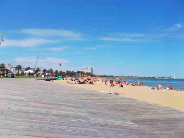 St Kilda beach, Melbourne things to do
