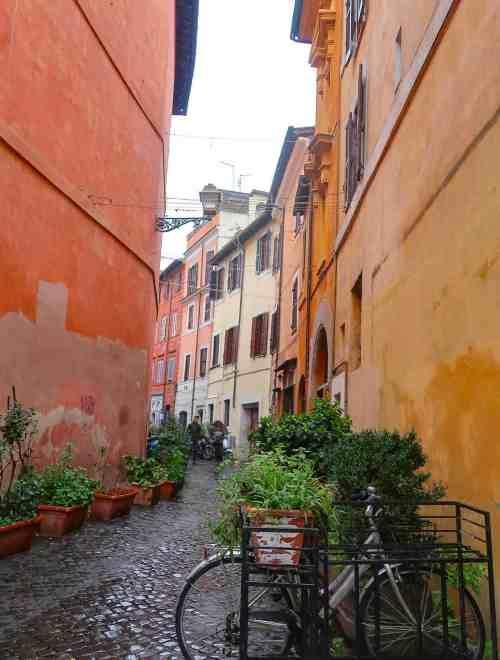 Trastevere street