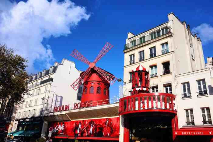 Moulin Rouge best things to do in paris