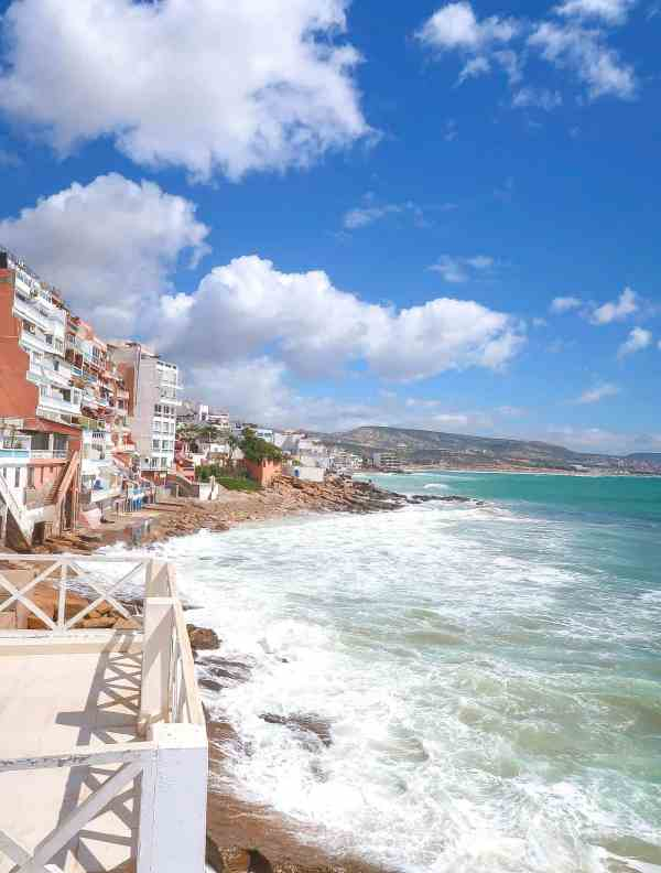 Dfrost Almugar Surf and Yoga House Taghazout View