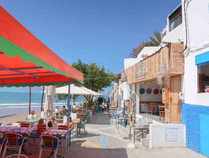 Taghazout Travel Guide, windy bay