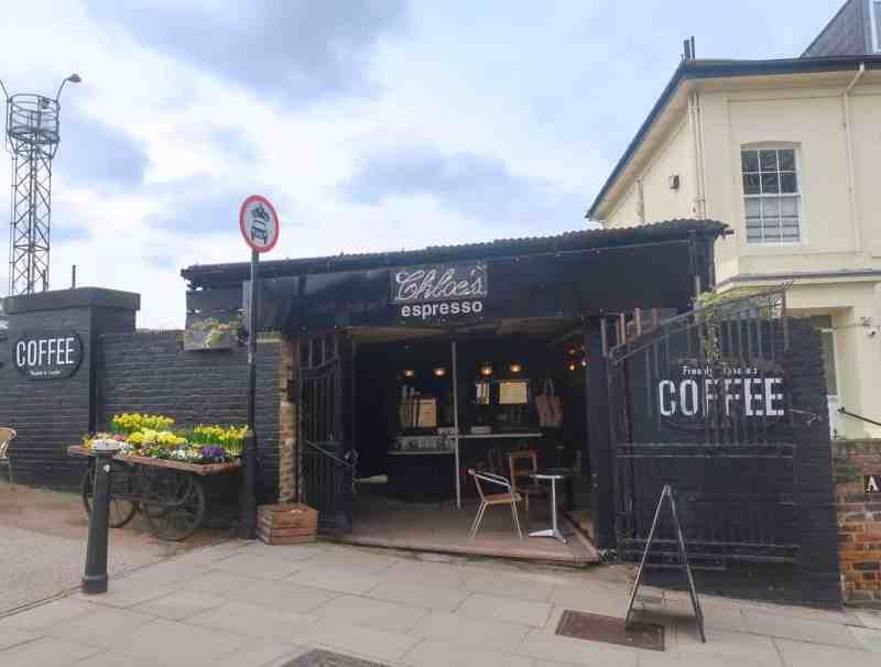 Regents Canal Walk, Primrose Hill Chloes Espresso