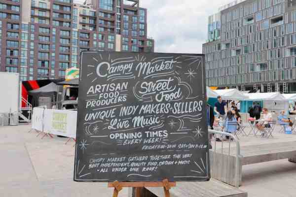 things to do in Kings Cross, Canopy Market