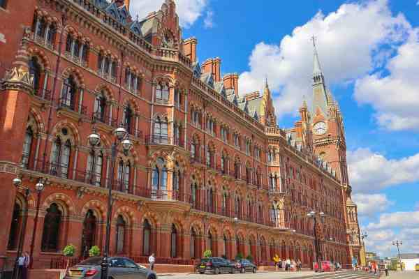 things to do in Kings Cross, St Pancras Renaissance Hotel