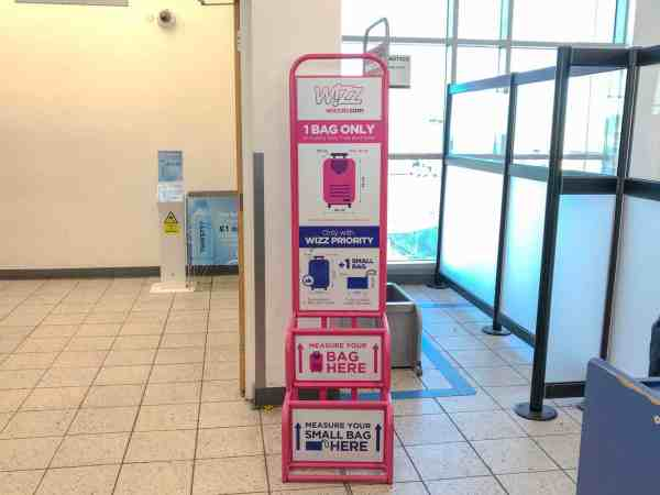 Wizz air baggage rules