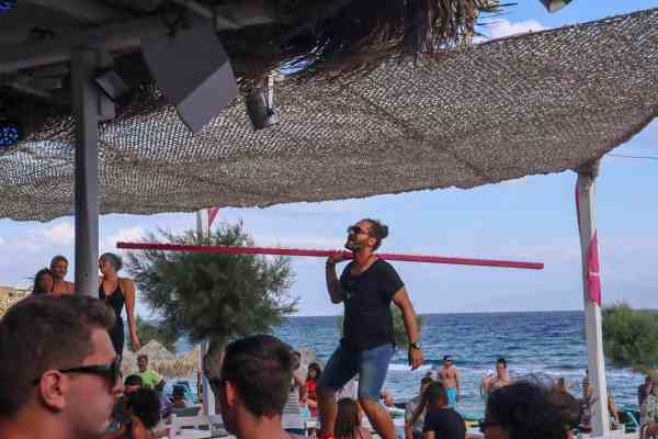 Best Island Beaches For Partying Mykonos St Barts: Visiting Paradise Beach In Mykonos For A Beach Party