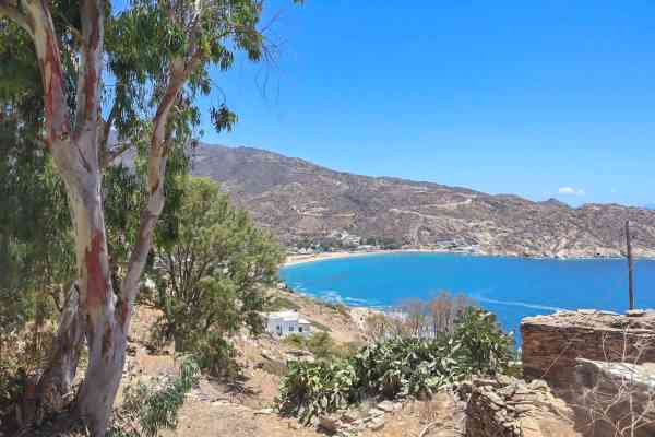 Mylopotas Beach in Ios Greece