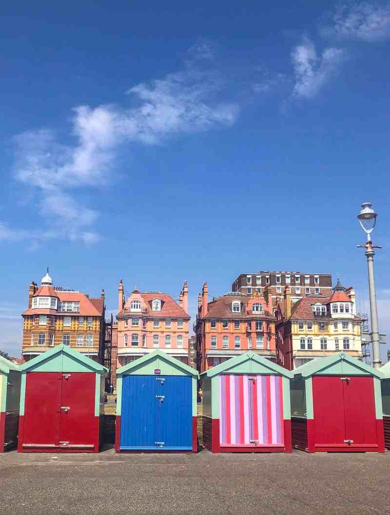 Brighton Day Trip from London, hove beach huts