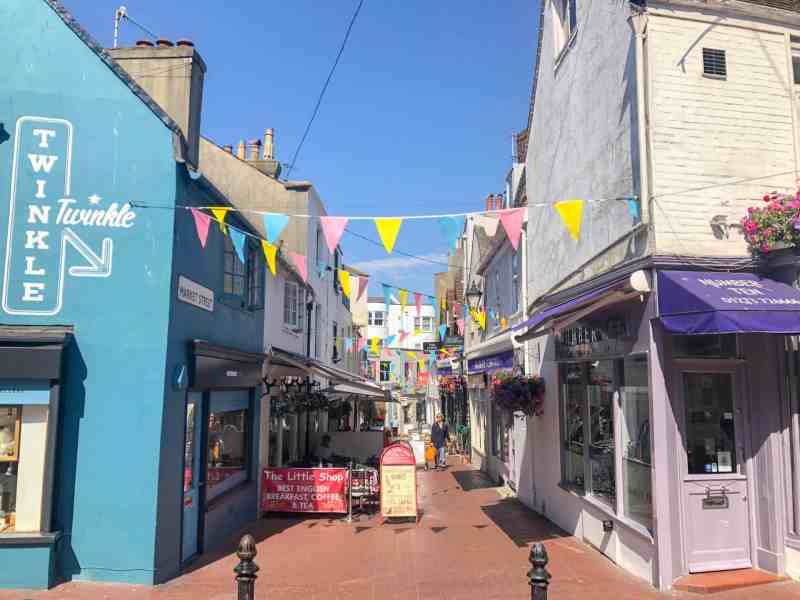 brighton things to do on a day trip from London Brighton lanes