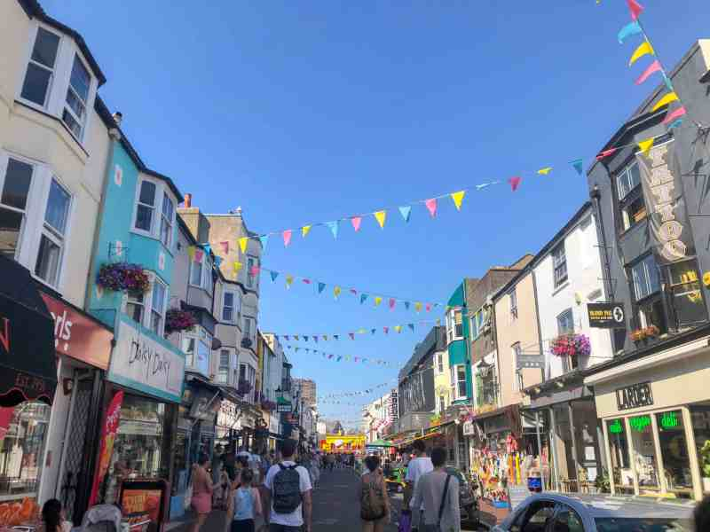 brighton things to do on a day trip from London Brighton north laines