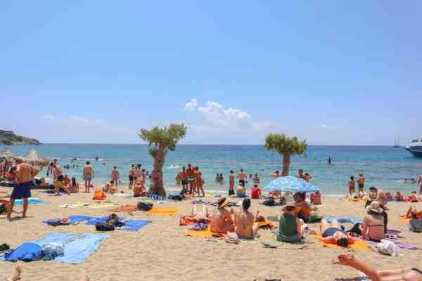 Paradise Beach Mykonos Party