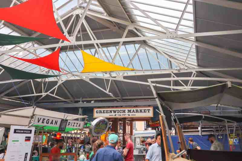 things to do in Greenwich London, Greenwich food market