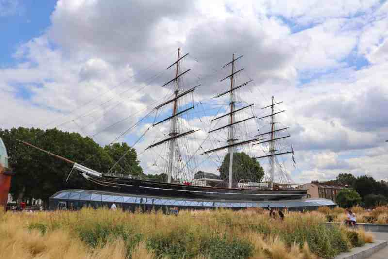 Greenwich London things to do Cutty Sark museum