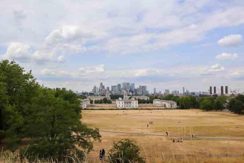 things to do in Greenwich London, Greenwich park views