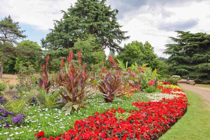 things to do in Greenwich London, Flower Garden