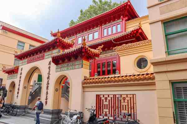 Amsterdam central buddhist temple