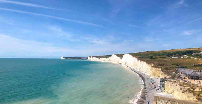 Seven Sisters Cliffs from London