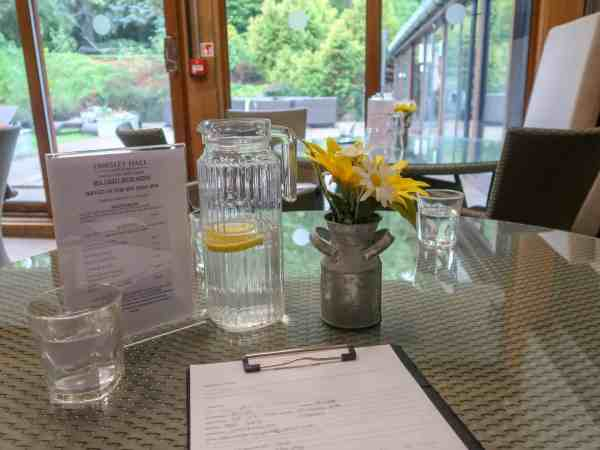 Fawsley Hall Hotel & Spa Spa Day Consultation Form