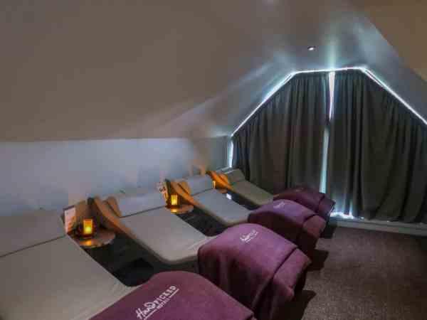 Fawsley Hall Hotel & Spa Spa Day Relaxation Room