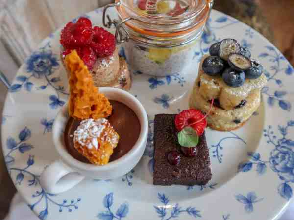 Fawsley Hall Afternoon Tea and Spa Day, Vegan Afternoon Tea