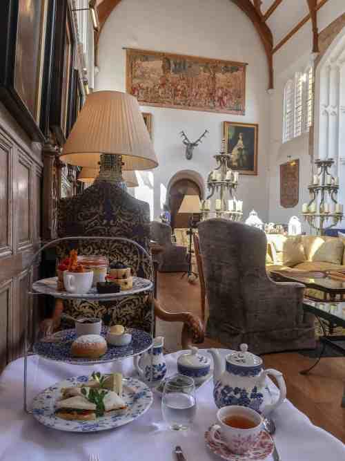 Fawsley Hall Hotel Afternoon Tea