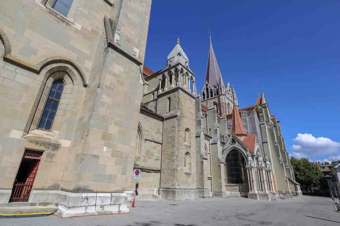 Montreux to Lausanne, Lausanne to Montreux, Lausanne cathedral