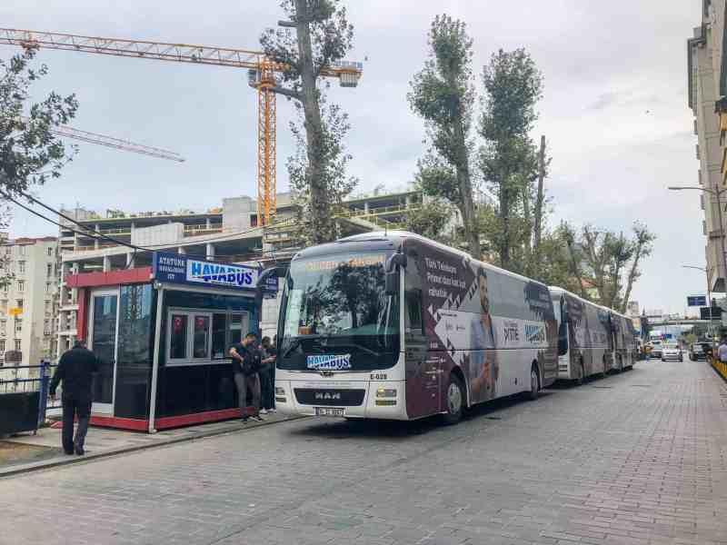 istanbul to Cappadocia, Havabus