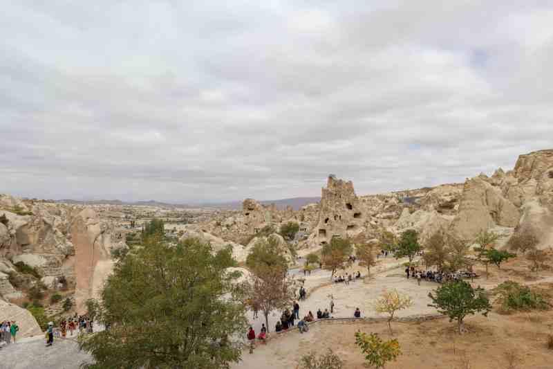 Cappadocia itinerary, Goreme Open Air Museum