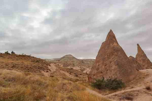 Red Tour around Cappadocia Turkey