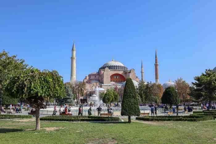 3 day Istanbul itinerary, Hagia Sophia