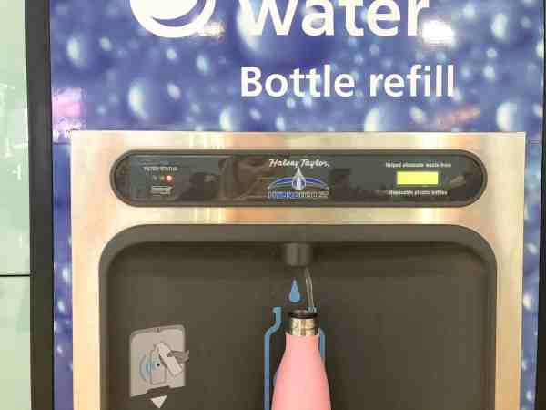 Where To Refill Your Water Bottle in All 5 of London's Airports!