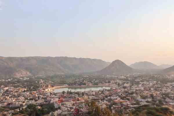 things to do in Pushkar sunset