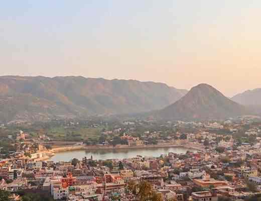 Pushkar sunset view | things to do in Pushkar