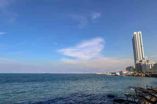 Beirut things to do corniche