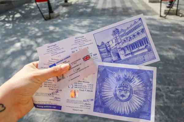 Udaipur City Palace tickets