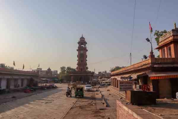 things to do in jodhpur Clock Tower Morning