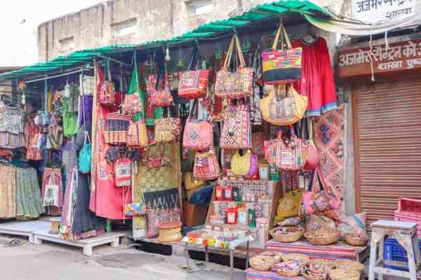 things to do in Pushkar shopping