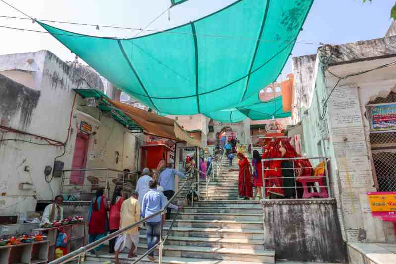 Brahma Temple entrance | things to do in Pushkar