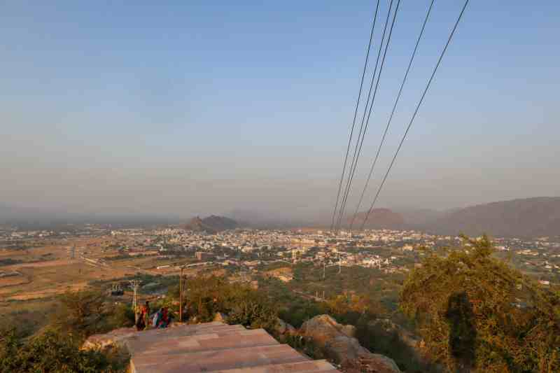 View of Pushkar from Savitri Temple | things to do in Pushkar