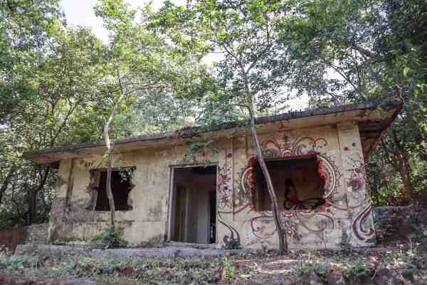 The Beatles Ashram Rishikesh huts