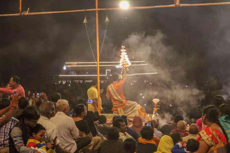 Varanasi itinerary, Varanasi Evening Aarti