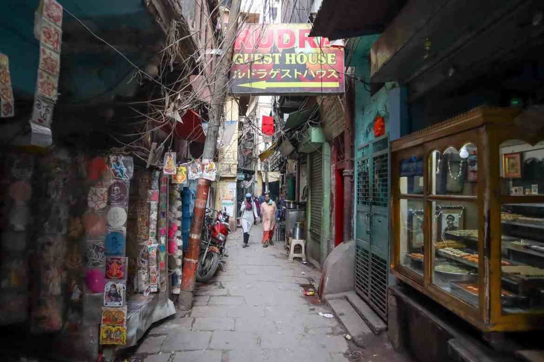 Varanasi itinerary, varanasi back streets